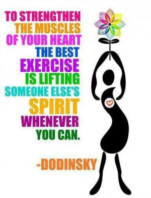 Doing something for someone else makes you feel better