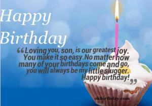 Birthday Happy Sonjpg Picture