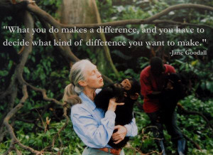 Enjoy the best of Jane Goodall quotes . Famous Quotes by Jane Goodall ...
