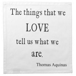 Vintage Addison Love Inspirational Quote / Quotes Napkin