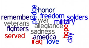 WHAT VETERAN'S DAY MEANS TO ME...
