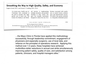 Mayo Clinic Case Study Quote