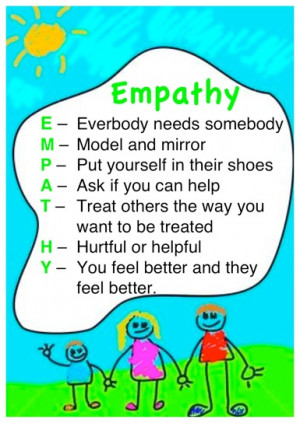 Empathy Stretching: It's all about helping our children experience ...