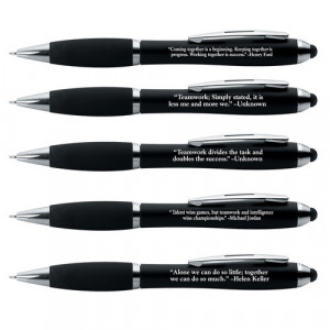 Home > Teamwork With Quotations Stylus Pen Assortment Pack