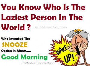 funniest way to wish gud morning to your friends and love ones ...