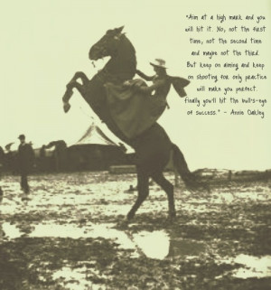 Annie Oakley Mde Insight Inspire