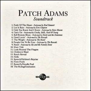 Eric Clapton, Patch Adams Soundtrack, USA, Promo, Deleted, CD-R ...