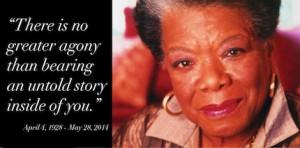 Maya Angelou's legacy: stories that make us whole