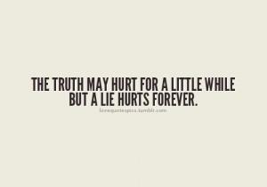Never trust a liar