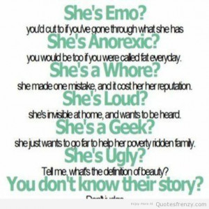 anti bullying quotes depressed life quotes and sayings emo life quotes ...