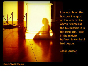 Inspirational Quotes, Jane Austen