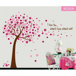 Tall Pink Tree Blossoms Wind Quote