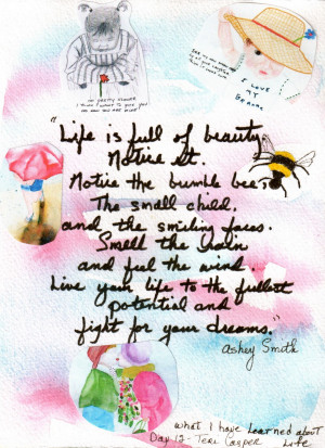 Life Is Full of Beauty ~ Funny Quote about Life