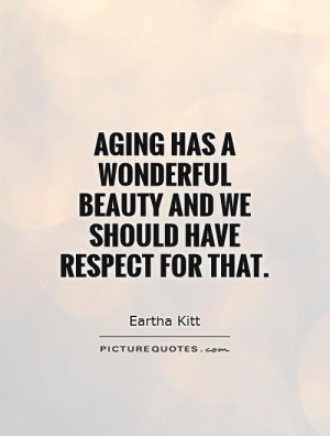 Quotes About Beauty And Age Quotesgram