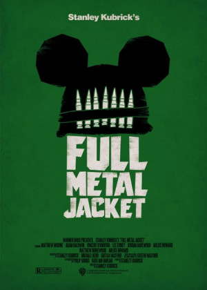 Full Metal Jacket. That might be the greatest movie poster I've ever ...