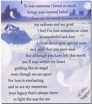 Happy Birthday Poems for Deceased Loved Ones