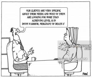 Recruitment Agencies cartoons, Recruitment Agencies cartoon, funny ...