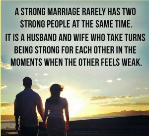 Strong marriage