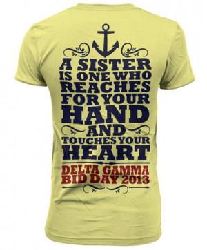Sister Quote Bid Day Block