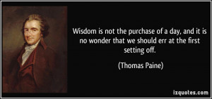Wonder Quotes More thomas paine quotes