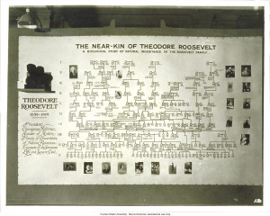 ... near-kin of Theodore Roosevelt,& 3rd International Eugenics Conference