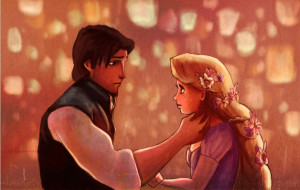 Tangled when i look at you