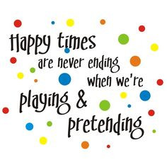 LARGE happy times are never ending vinyl wall decal by back40life, $78 ...