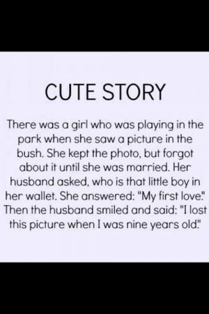 Love quotes, cute love story