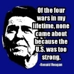 ronald reagan quote ronald reagan quote about american strength and