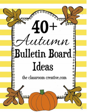 Should you make a bulletin board you'd like us to feature, send us ...