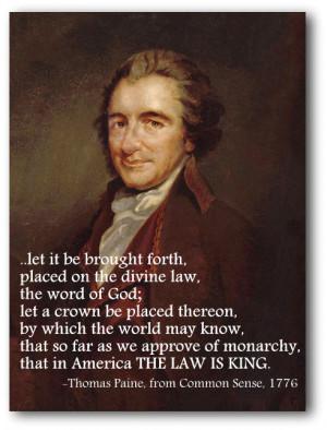 Thomas Paine Liberty...