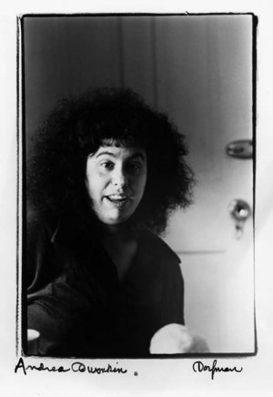 Andrea Dworkin photographed by Elsa Dorfman. Reading Dworkin's ...