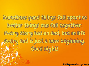 Every end is just a new beginning...