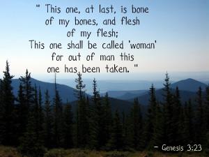 Famous Bible Quotes Genesis 3.23 bible verse