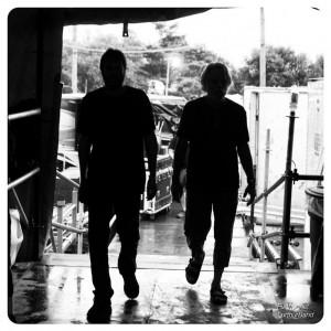 Phil Lesh & Bob Weir shadows