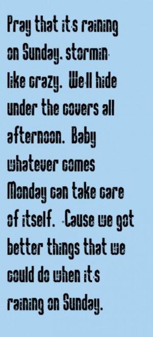 ... Sunday - song lyrics, songs, music lyrics, song quotes, music quotes