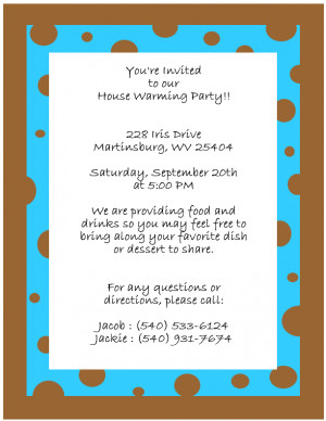Housewarming Invitation Image