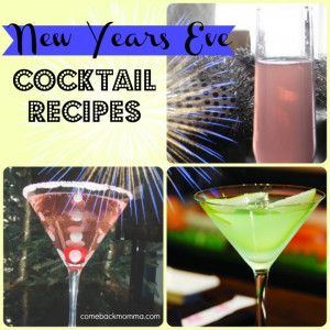 Here are three great New Years Eve cocktail recipes for your New Year ...