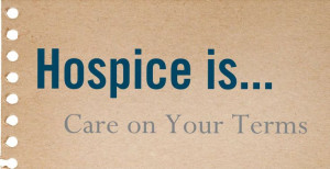 Hospice is... #hospice