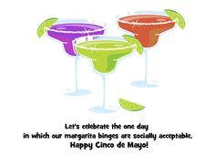 Funny Cinco De Mayo Quotes | Cinco De Mayo Margaritas eCard, Cinco de ...