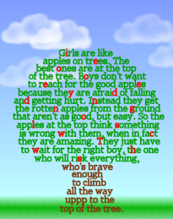 The Apple Tree Poem