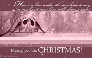 Missing You At Christmas – Poems and Quotes