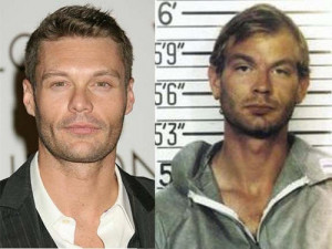 Ryan Seacrest totally looks like Jeffrey Dahmer. lol. funny