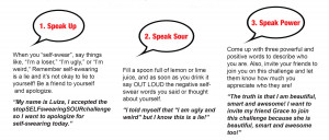 Join the #stop SELF swearing movement today, and we can instill ...
