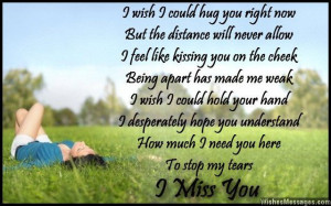 you understand how much i need you here to stop my tears i miss you ...