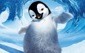 Happy Penguin wallpapers and images