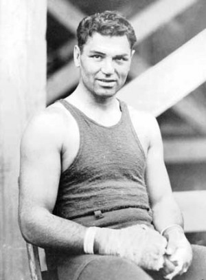 ... Jack Dempsey and Georges Carpentier, Jersey City, N.J., July 1921