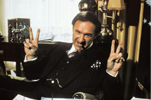 "GQ to Gene Hackman, ""Sum up your life in a phrase."" Hackman: ""He ..."