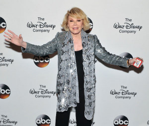 Joan Rivers attends A Celebration of Barbara Walters Cocktail ...