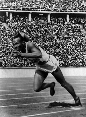The award bears Jesse Owens name; his career r...